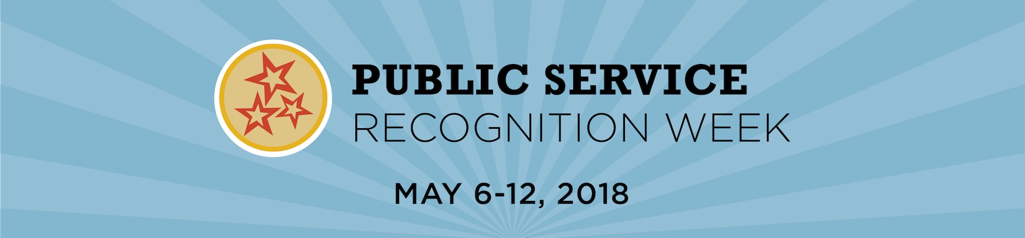 Public Service Recognition Week graphis