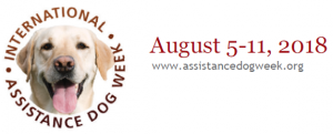 Assistance Dog Week graphic