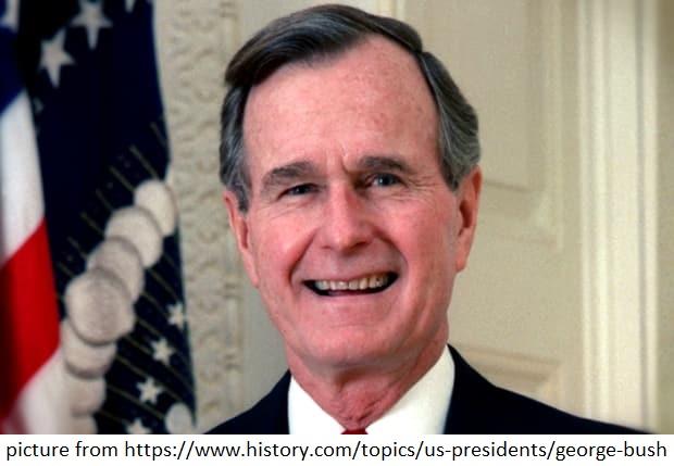 picture of George H.W. Bush